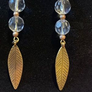Jewelry - Three Pairs of Gold Earrings